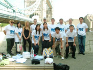 London clean up team