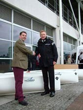 NYK awards Yoles rowing boats to MSSC